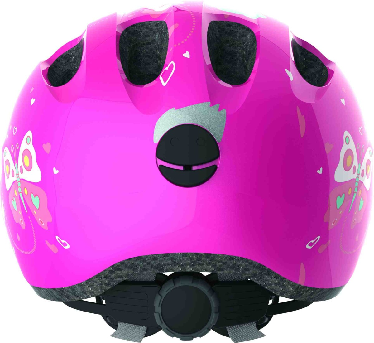 Helma Abus Smiley 2.0 pink butterfly