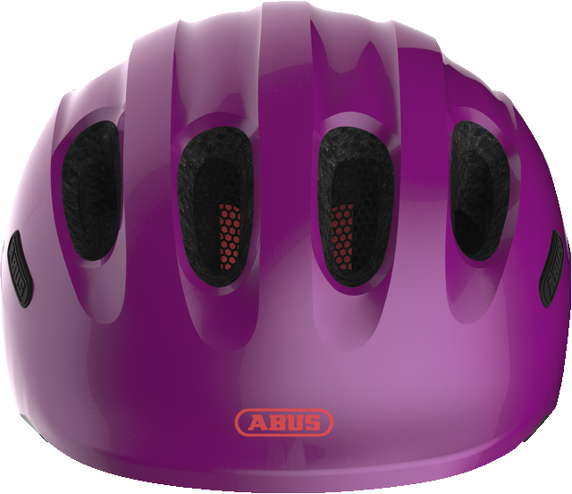 Helma Abus Smiley 2.1 sparkling plum